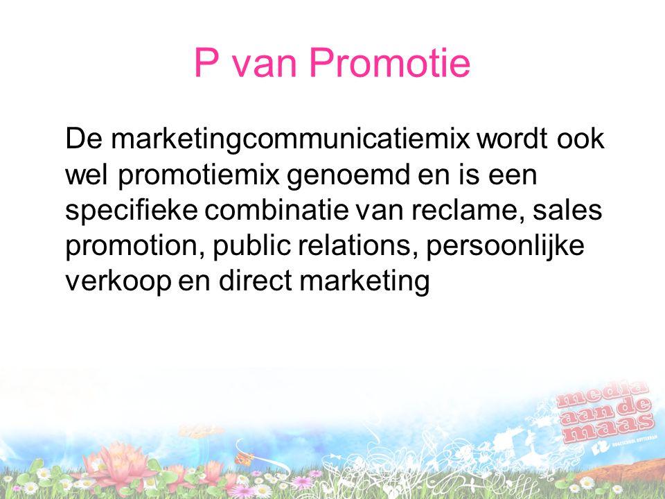 P van Promotie