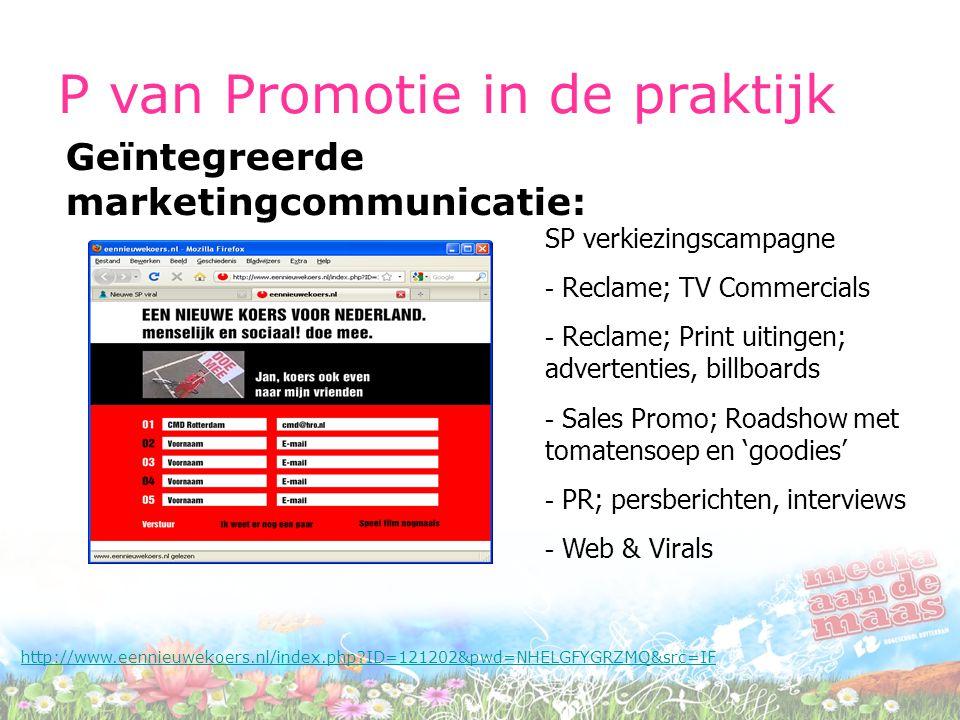 P van Promotie in de praktijk