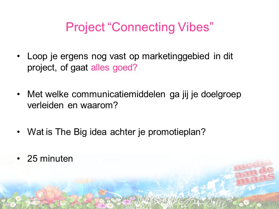 Project Connecting Vibes