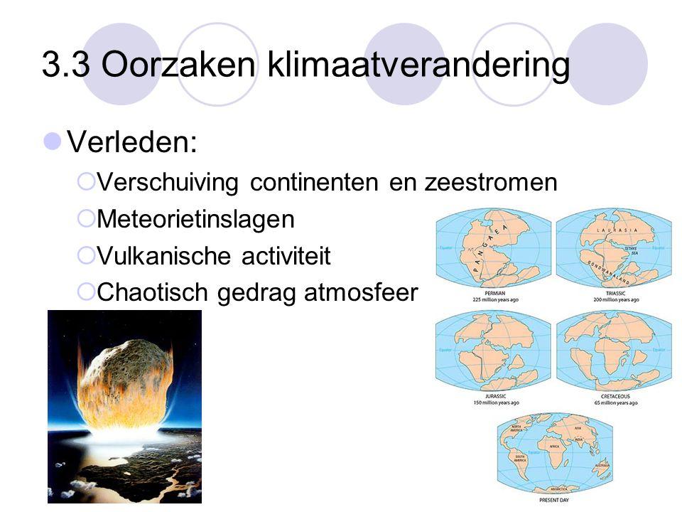 3.3 Oorzaken klimaatverandering