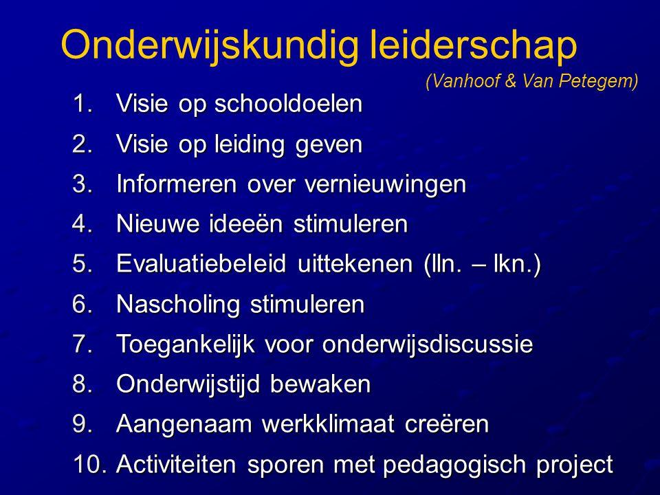 Onderwijskundig leiderschap