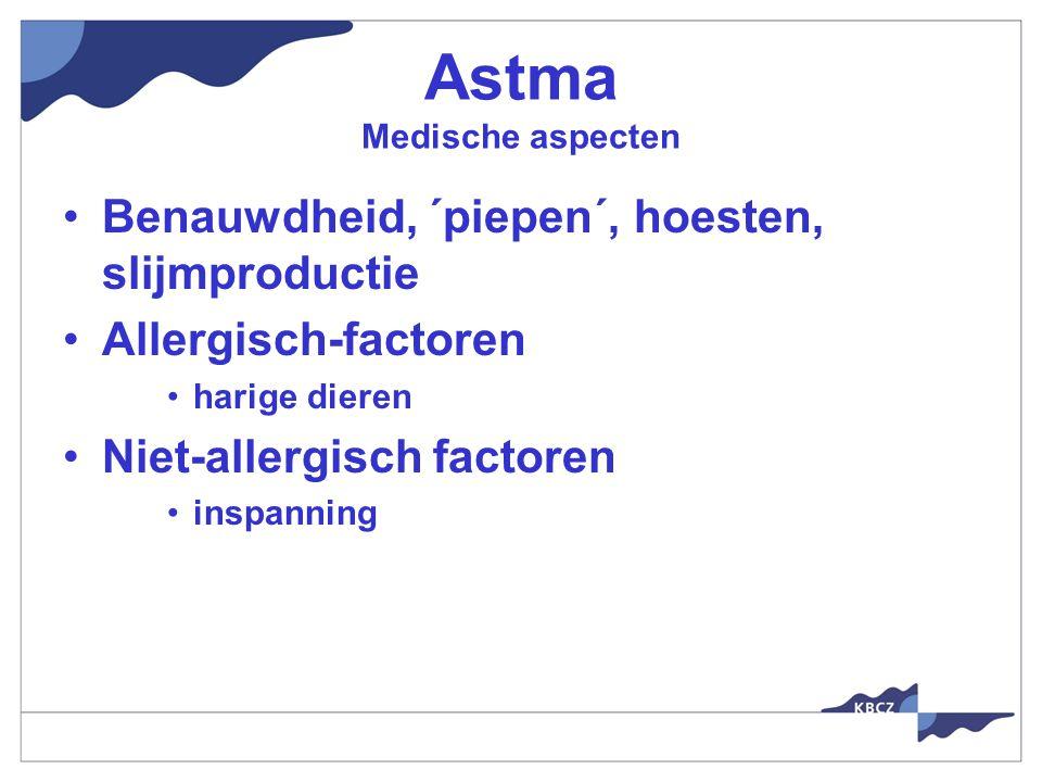 Astma Medische aspecten