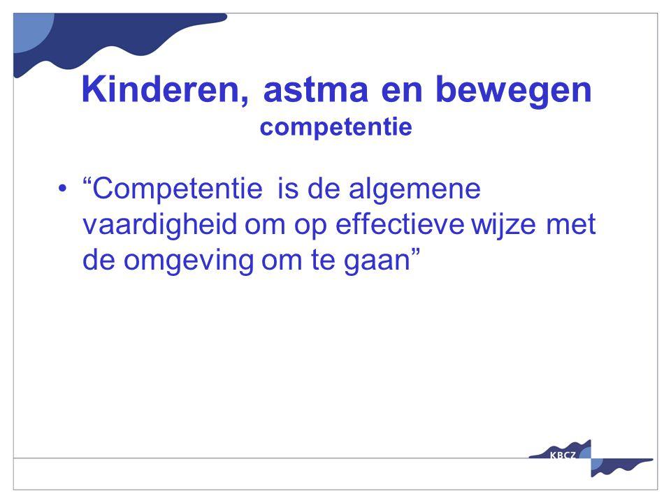 Kinderen, astma en bewegen competentie