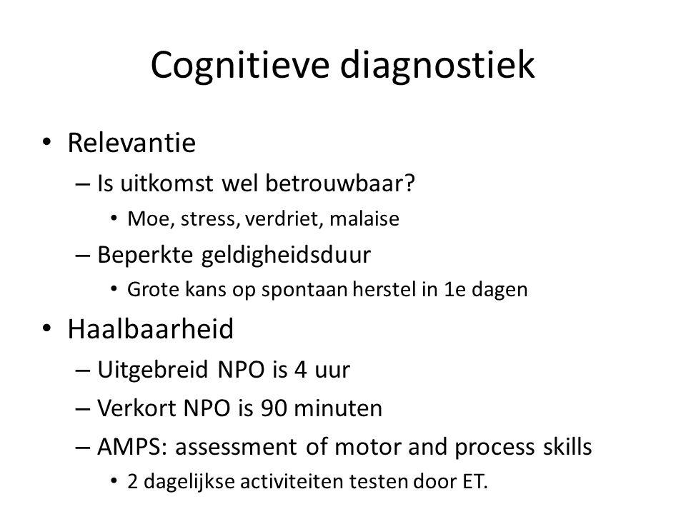 Cognitieve diagnostiek