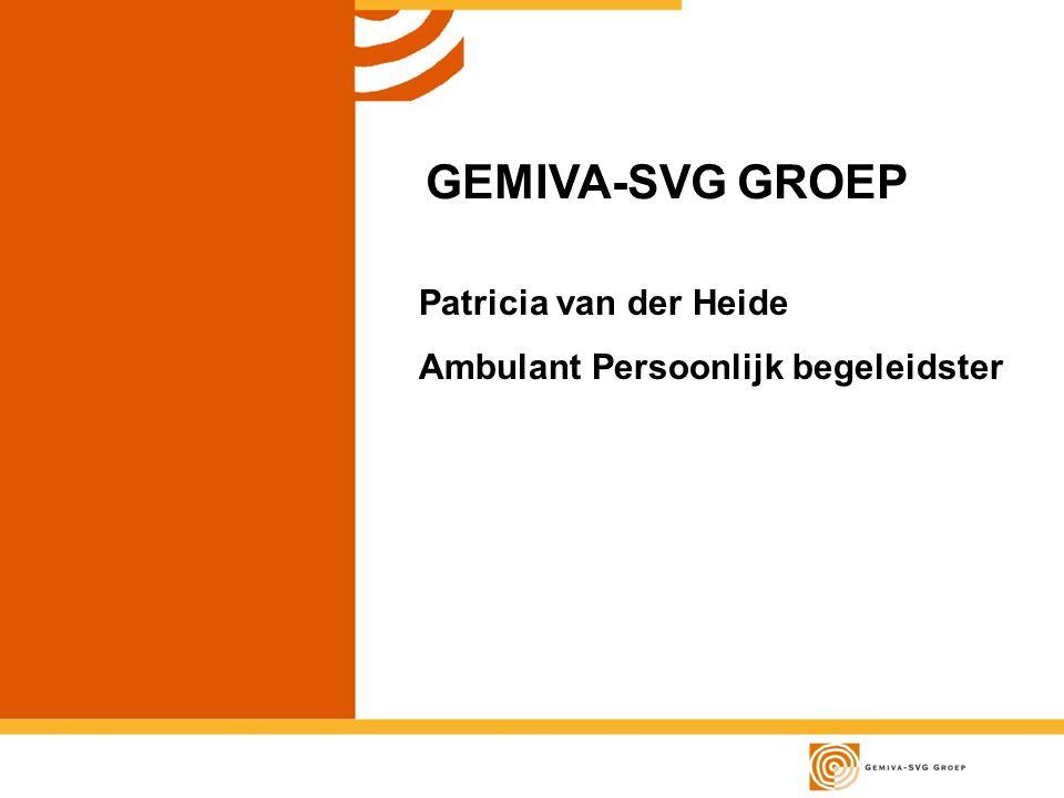GEMIVA-SVG GROEP Patricia van der Heide