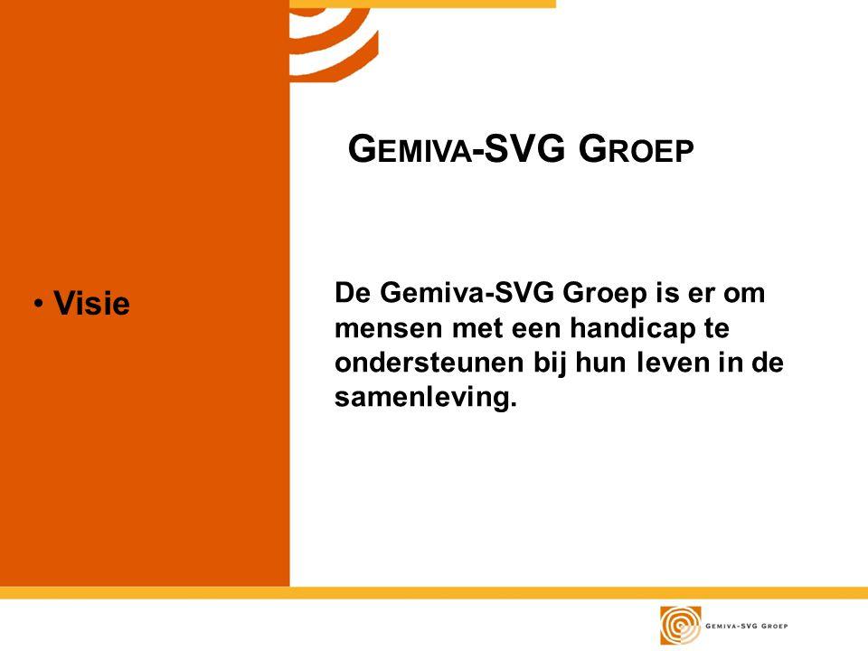 Gemiva-SVG Groep Visie