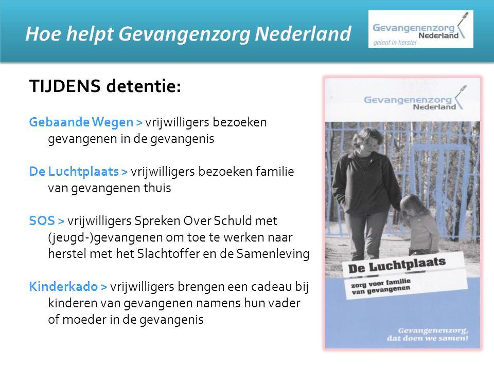 Hoe helpt Gevangenzorg Nederland