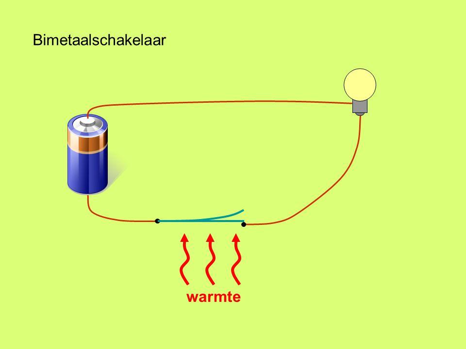 Bimetaalschakelaar warmte