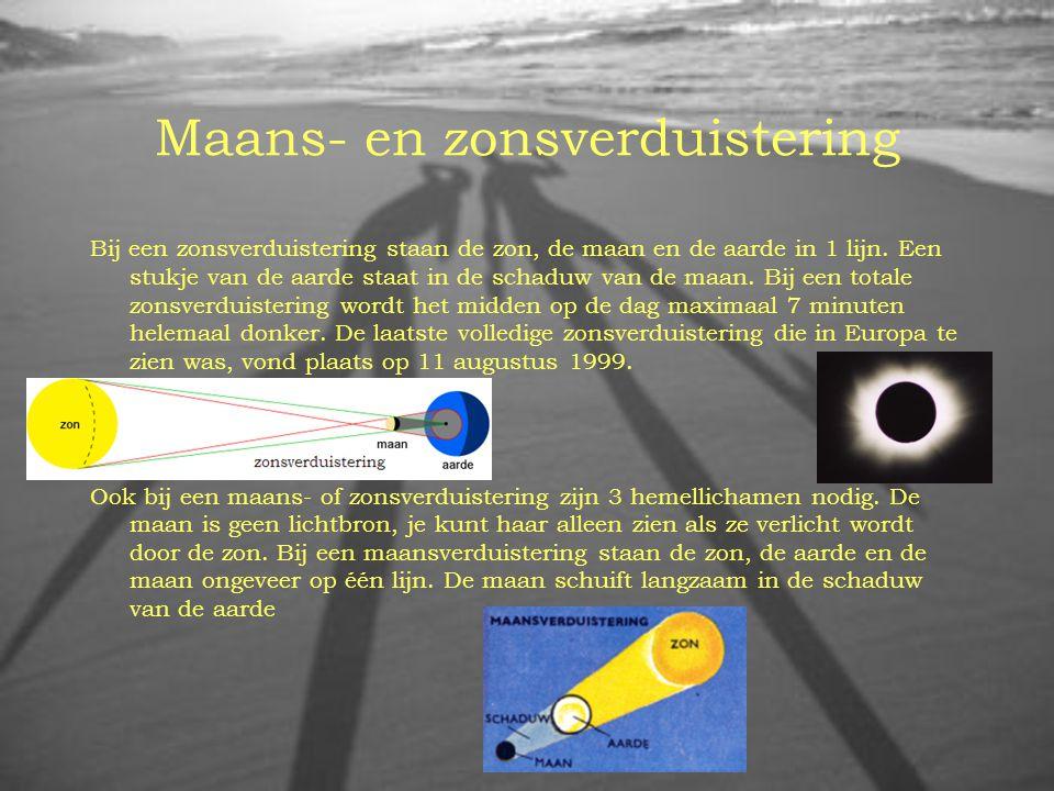 Maans- en zonsverduistering