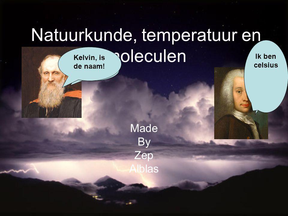 Natuurkunde, temperatuur en moleculen
