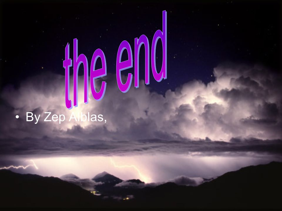 the end By Zep Alblas,