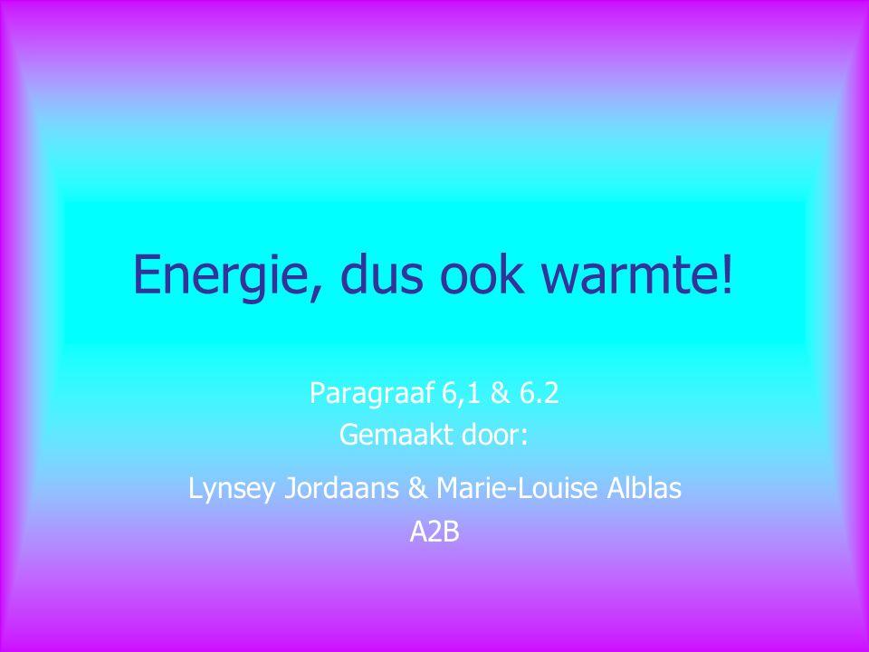 Lynsey Jordaans & Marie-Louise Alblas