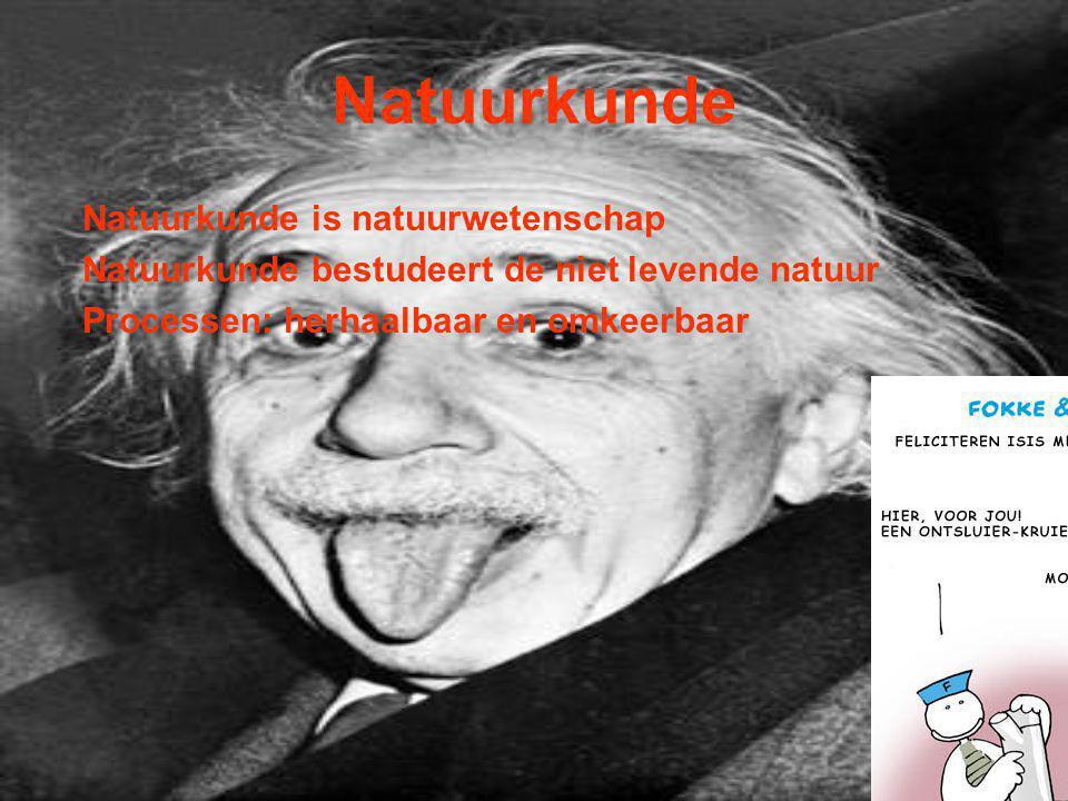 Natuurkunde Natuurkunde is natuurwetenschap