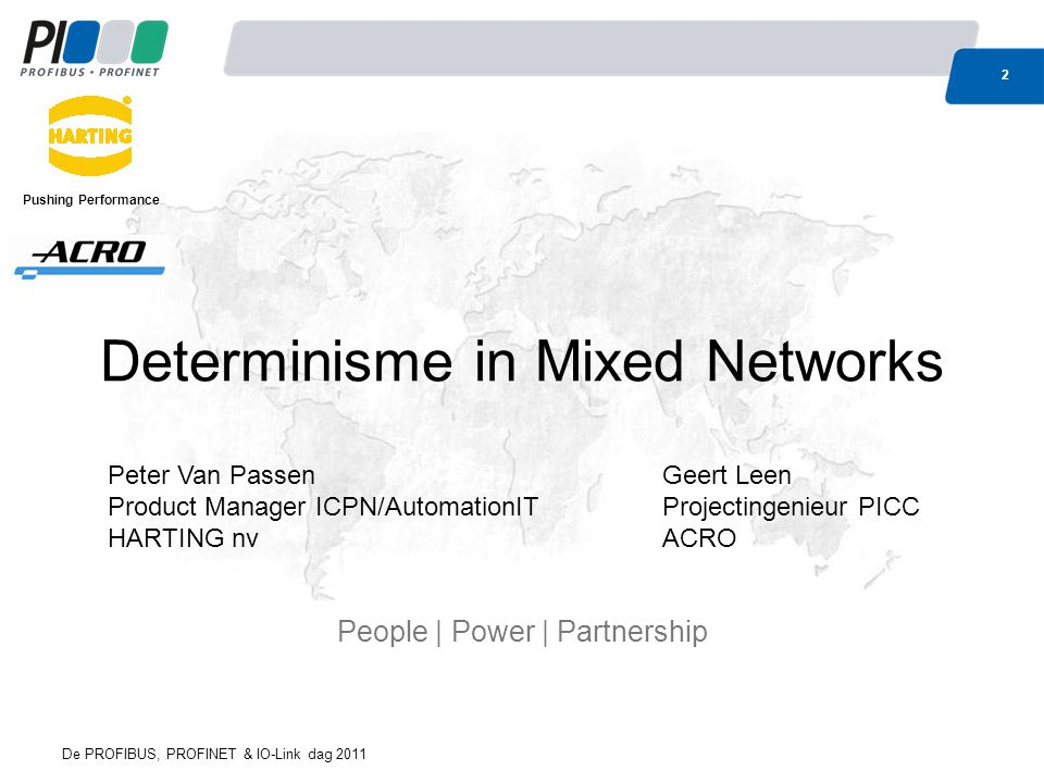 Determinisme in Mixed Networks
