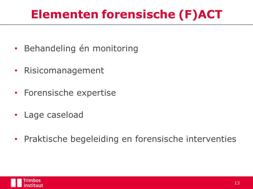 Elementen forensische (F)ACT