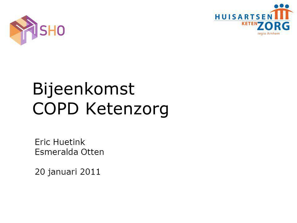 Bijeenkomst COPD Ketenzorg