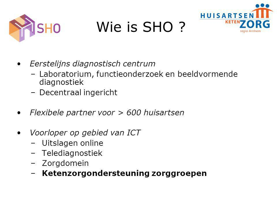 Wie is SHO Eerstelijns diagnostisch centrum