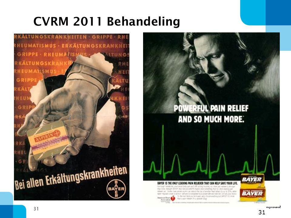 CVRM 2011 Behandeling 31