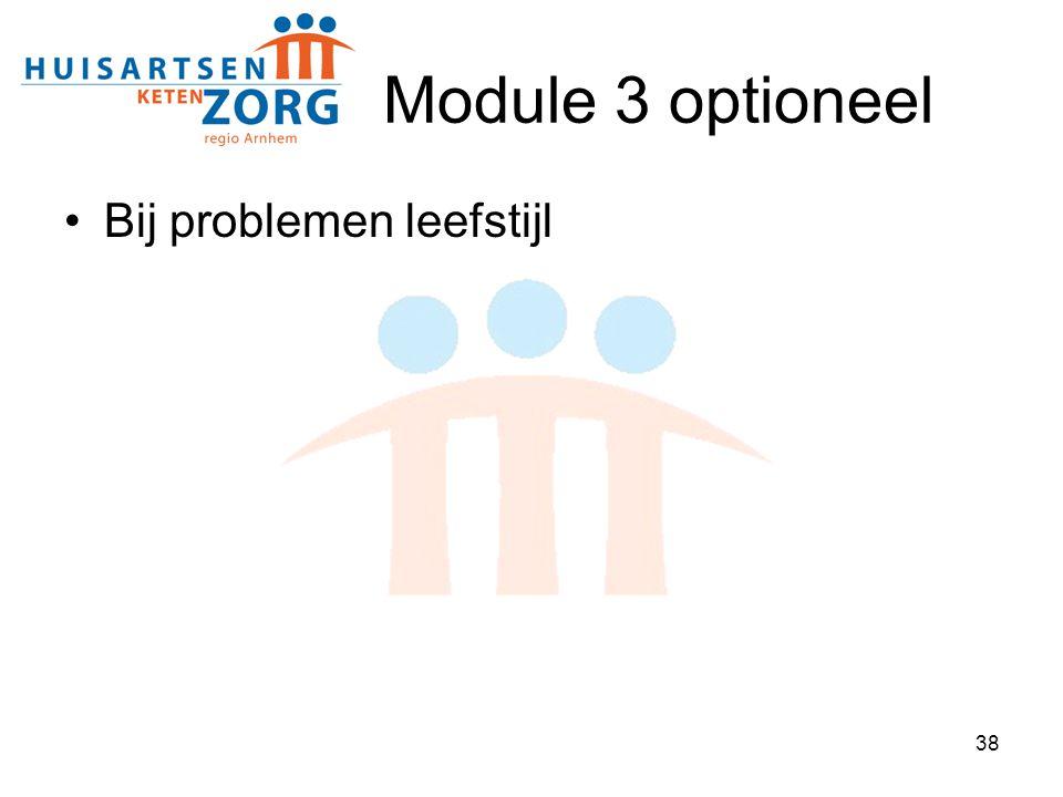 Module 3 optioneel Bij problemen leefstijl