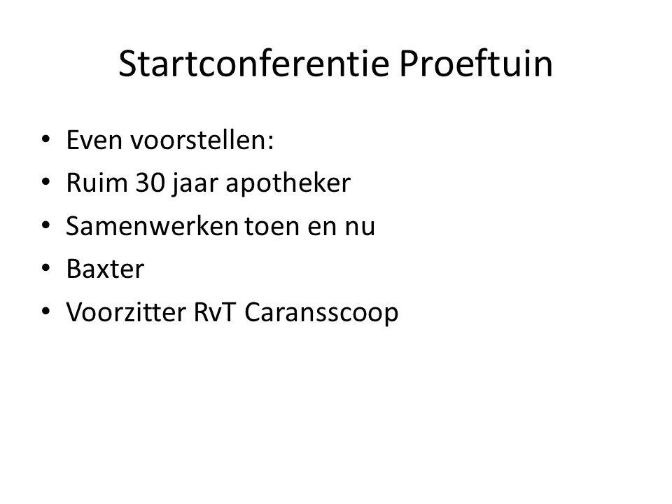 Startconferentie Proeftuin