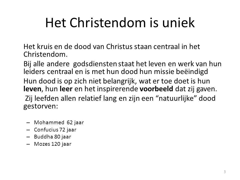 Het Christendom is uniek