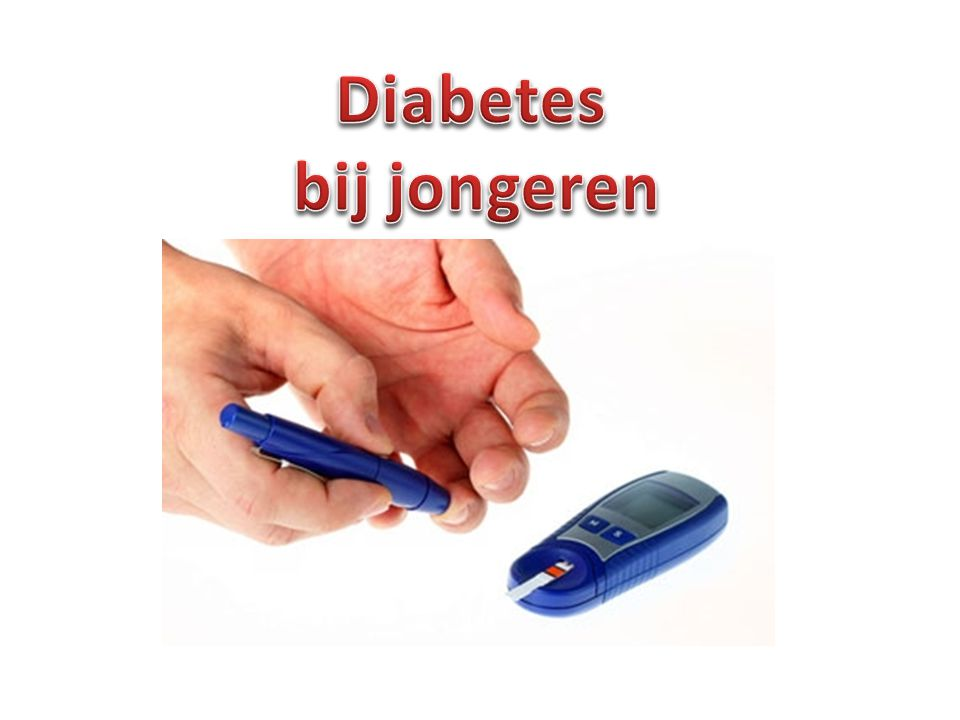 Diabetes bij jongeren