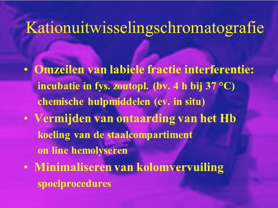 Kationuitwisselingschromatografie