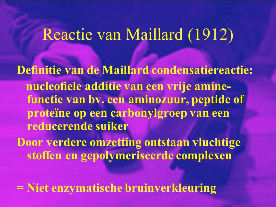 Reactie van Maillard (1912)