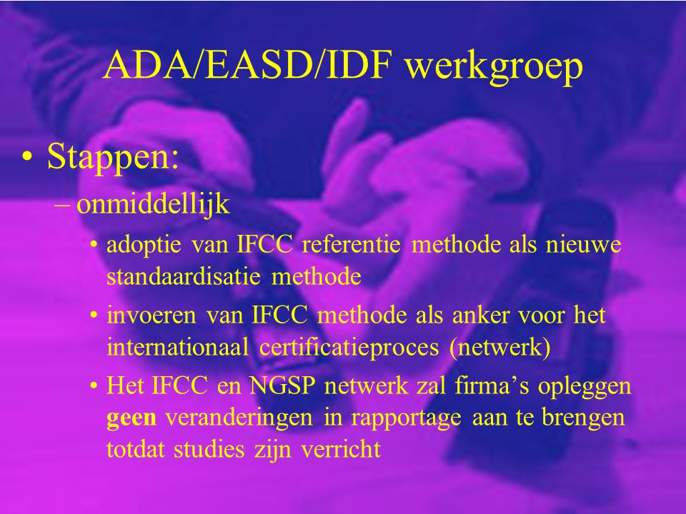 ADA/EASD/IDF werkgroep