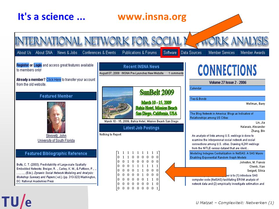 It s a science ... www.insna.org
