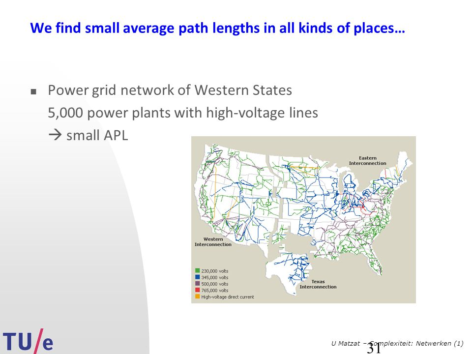 We find small average path lengths in all kinds of places…