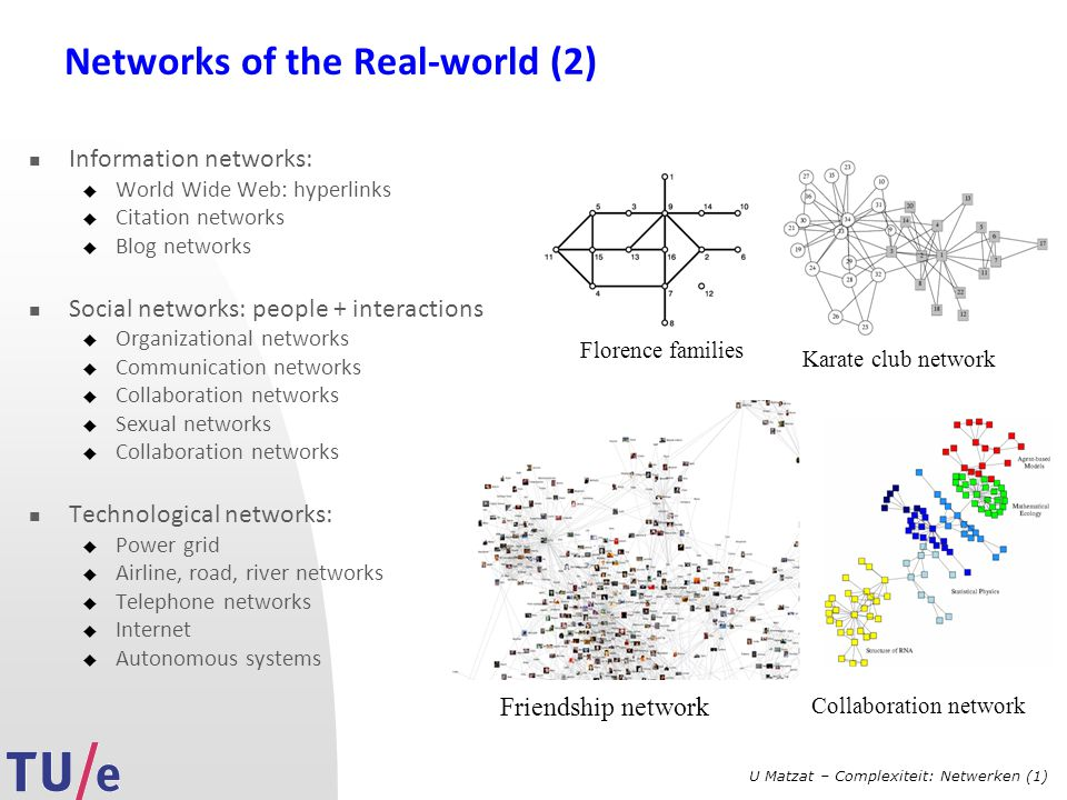 Networks of the Real-world (2)
