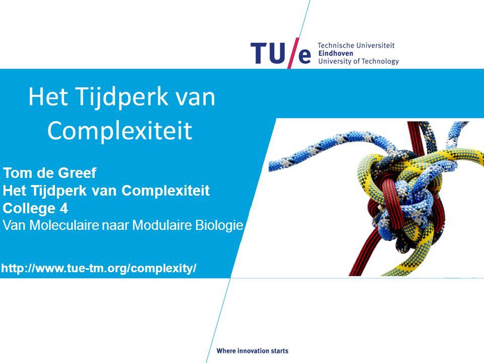 Het Tijdperk van Complexiteit College 4