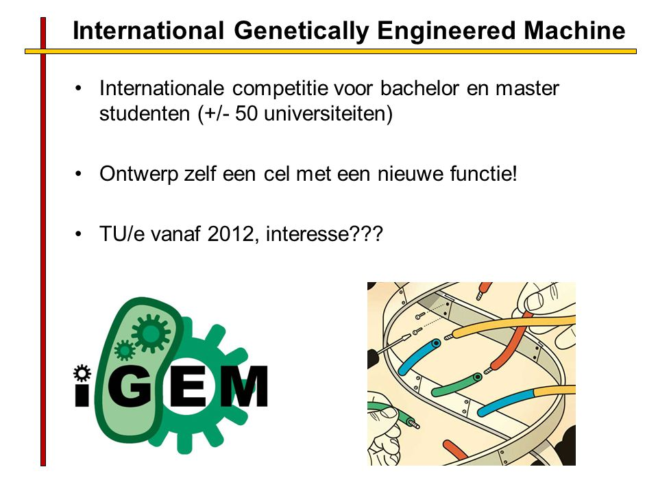 International Genetically Engineered Machine