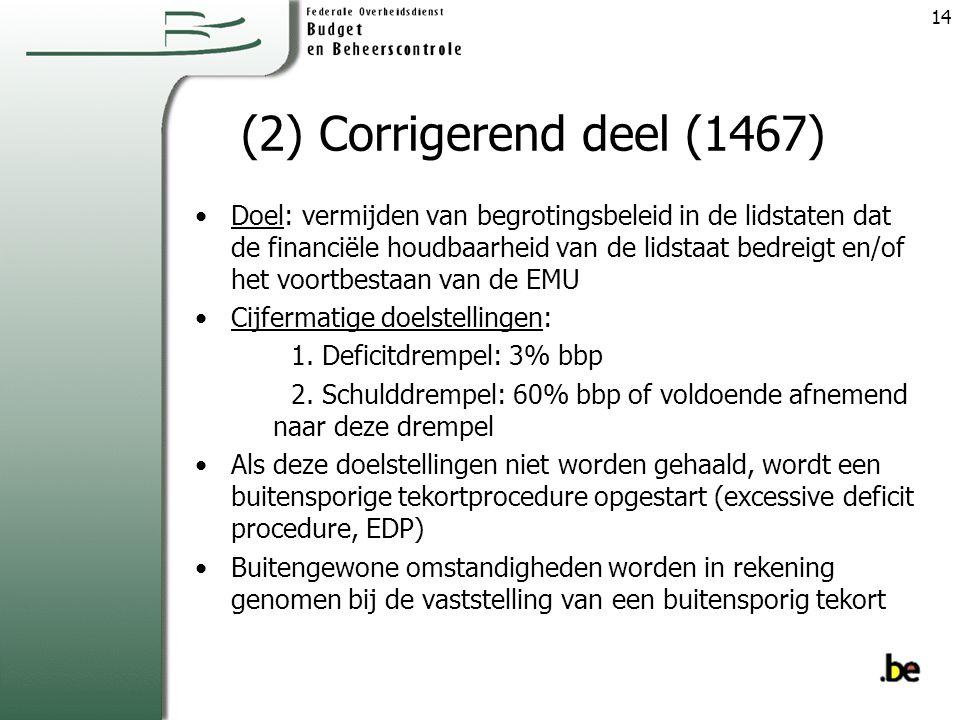(2) Corrigerend deel (1467)