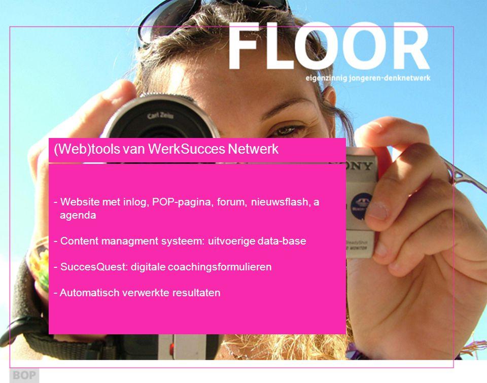 (Web)tools van WerkSucces Netwerk