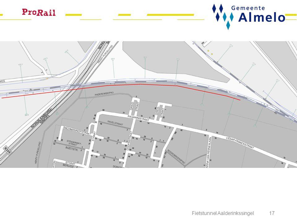 Fietstunnel Aalderinkssingel