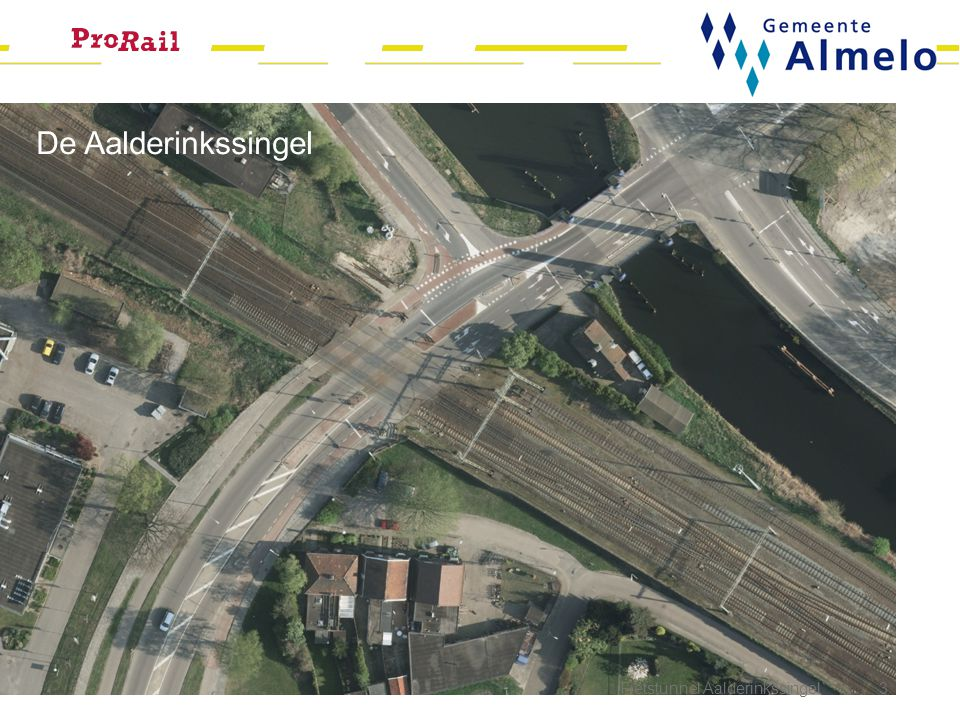 De Aalderinkssingel Fietstunnel Aalderinkssingel