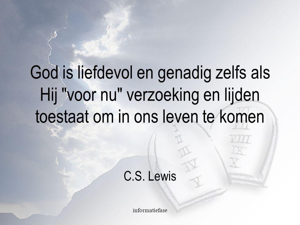 God is liefdevol en genadig zelfs als Hij voor nu verzoeking en lijden toestaat om in ons leven te komen