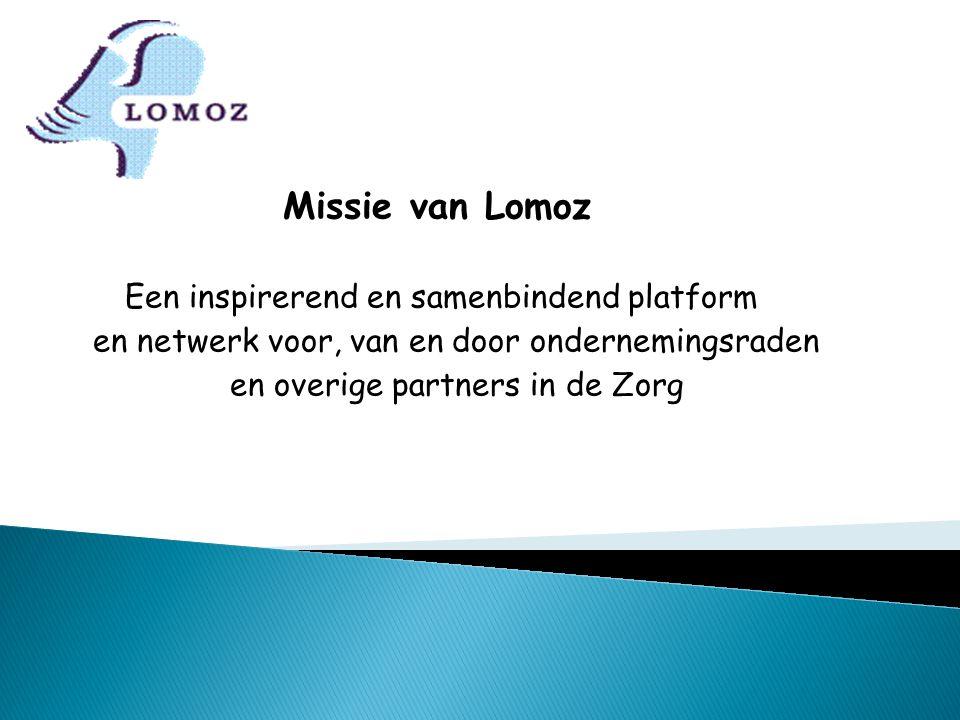 Missie van Lomoz en netwerk voor, van en door ondernemingsraden