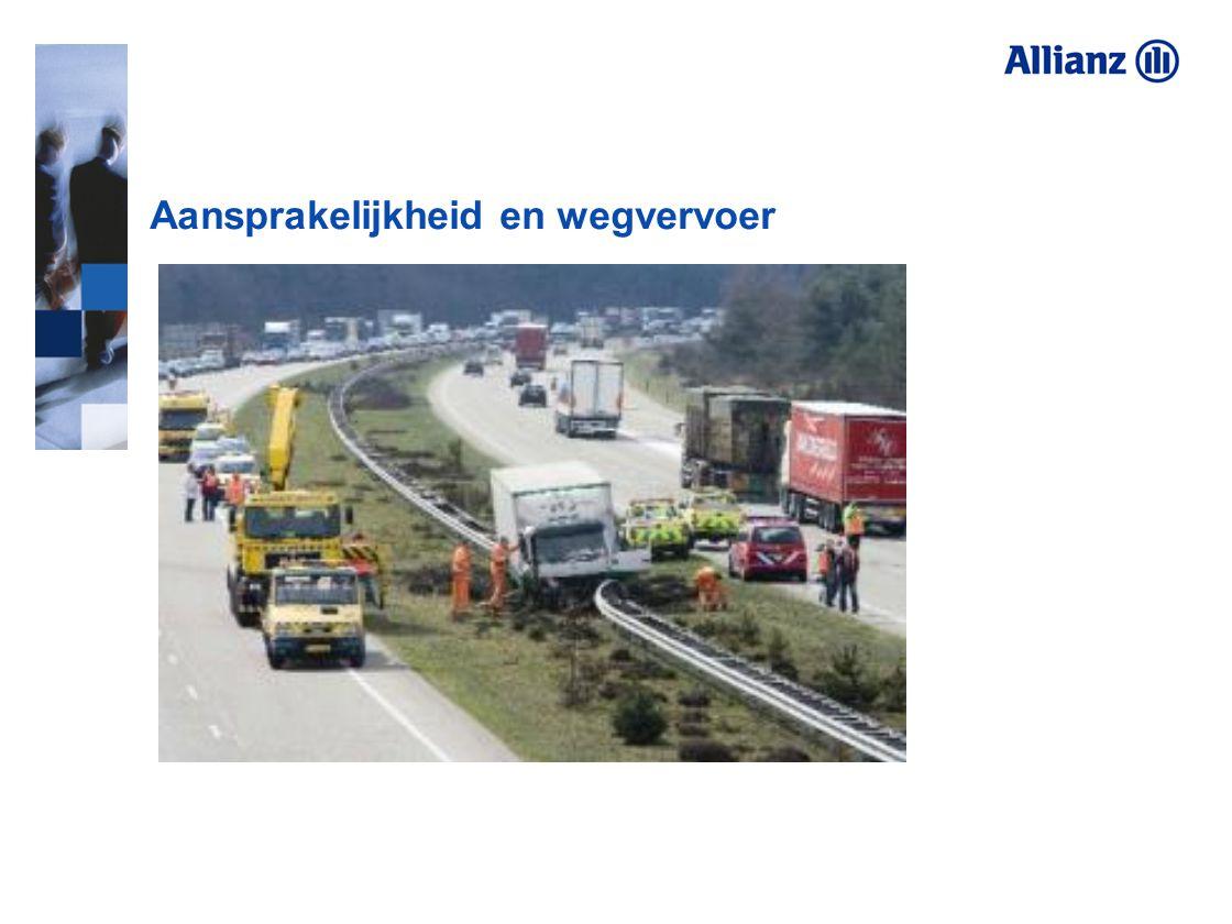 Aansprakelijkheid en wegvervoer