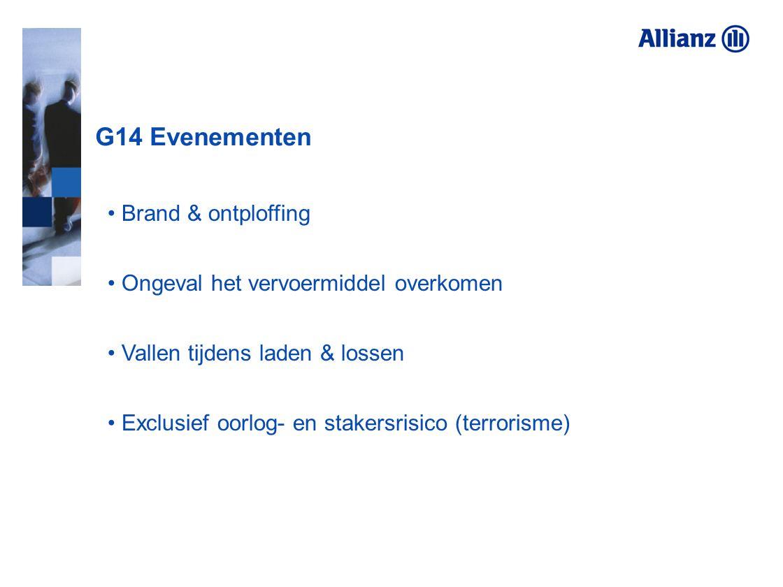 G14 Evenementen Brand & ontploffing