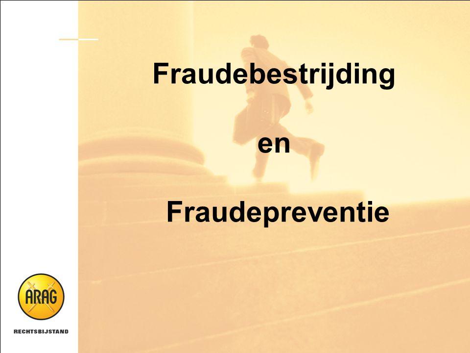 Fraudebestrijding en Fraudepreventie