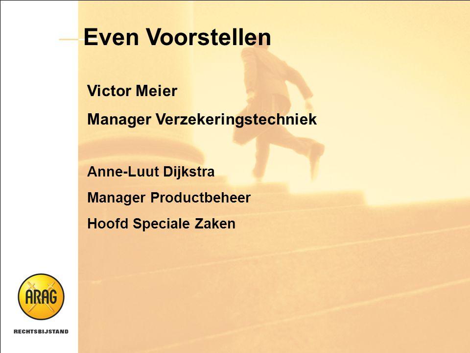 Even Voorstellen Victor Meier Manager Verzekeringstechniek