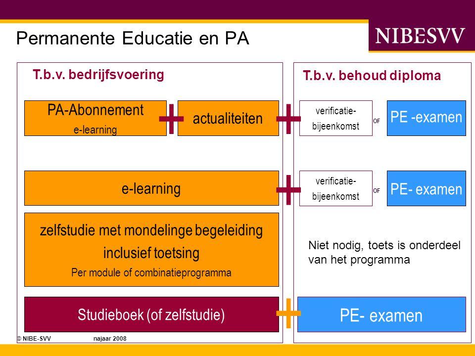 Permanente Educatie en PA