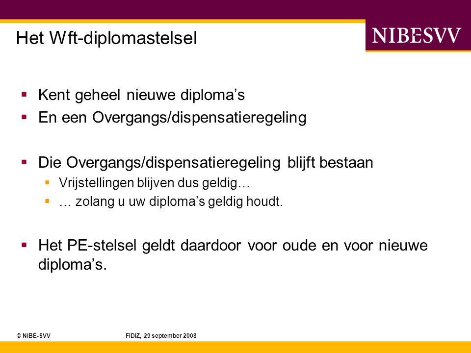 Het Wft-diplomastelsel