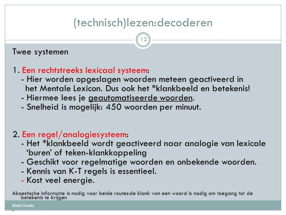 (technisch)lezen:decoderen