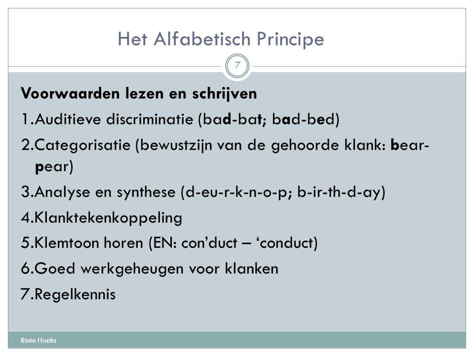 Het Alfabetisch Principe