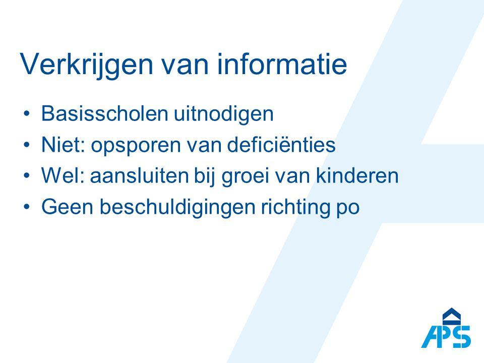 Verkrijgen van informatie