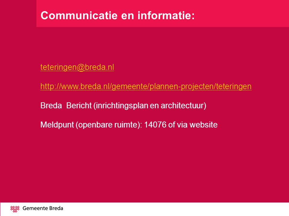 Communicatie en informatie: